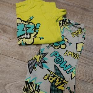 Gymboree boys pajamas sz 5